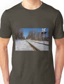 HDR Train Tracks Unisex T-Shirt