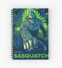Summer Sasquatch Spiral Notebook