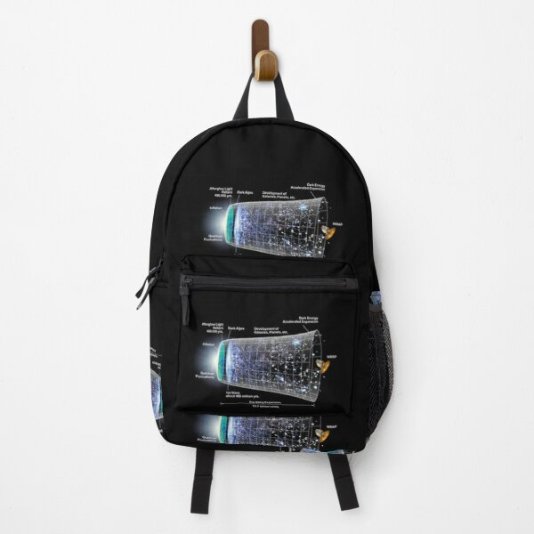 Physics Prints,  Shape of the universe Backpack