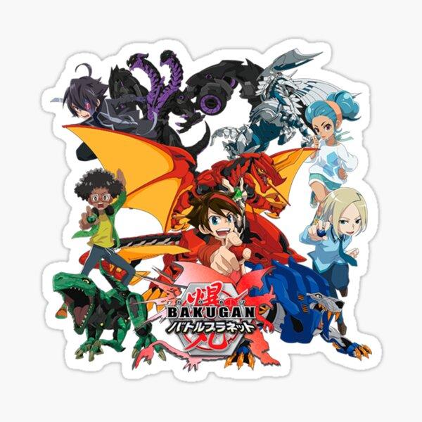 Bakugan Battle Brawlers Characters 2 HD Pegatina