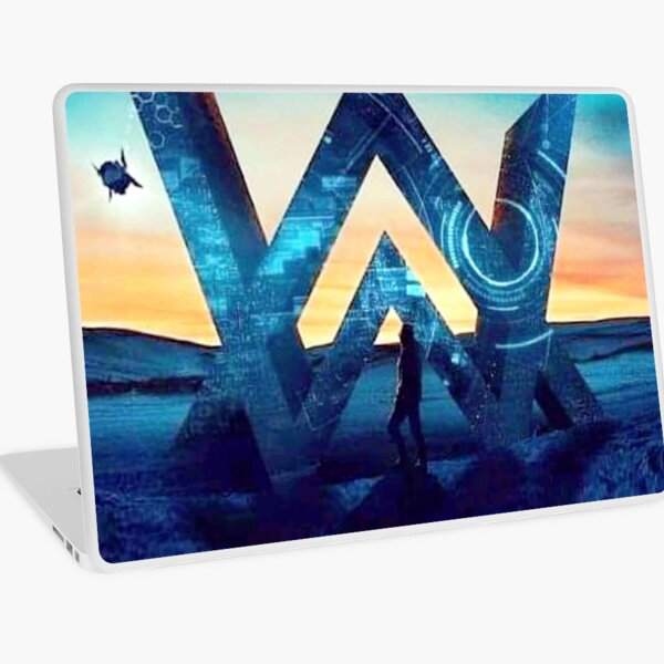 THE WALKER GALAXY Laptop Skin