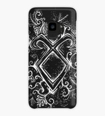 Angelic Rune Mandala- Inverted Case/Skin for Samsung Galaxy