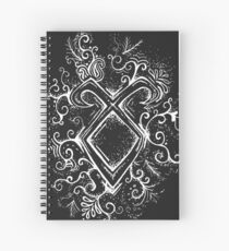 Angelic Rune Mandala- Inverted Spiral Notebook