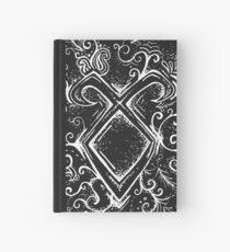 Cuaderno de tapa dura Angelic Rune Mandala- Invertido