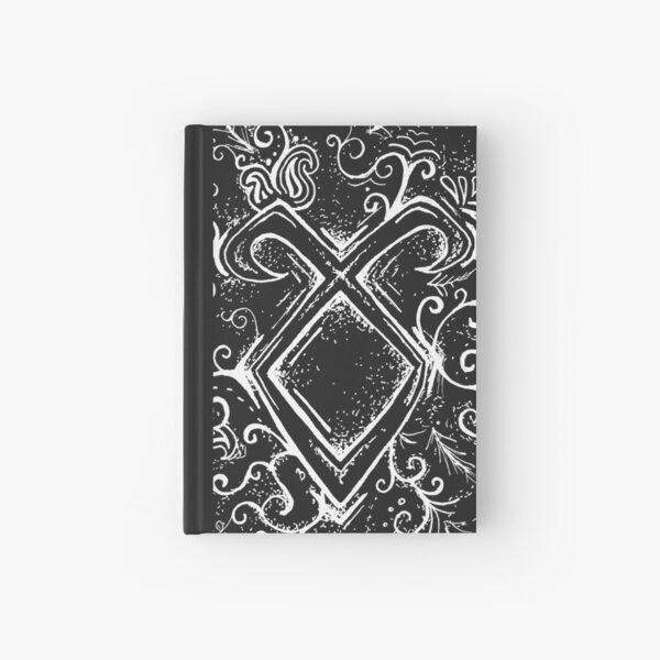 Angelic Rune Mandala- Inverted Hardcover Journal