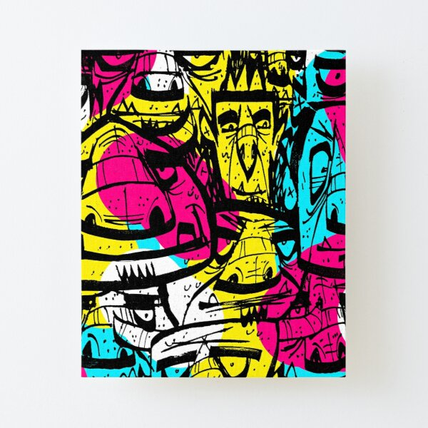 Tight Spaces II Canvas Mounted Print