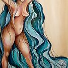Sweet Freedom Blue by Leni Kae