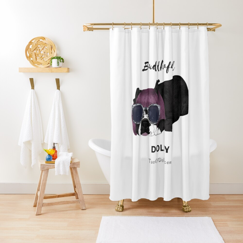 Buddhaful Dolly  Shower Curtain