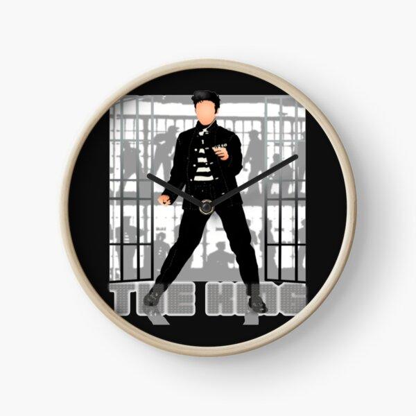 Elvis Presley The King Jailhouse Clock