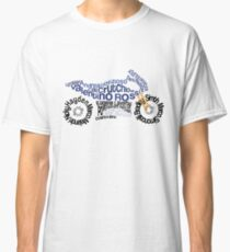 Typography MotorBike - MotoGP Classic T-Shirt