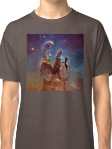 Pillars of Creation, Eagle nebula, space exploration Classic T-Shirt