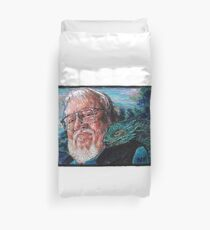 George R. R. Martin Father Of Dragons Duvet Cover