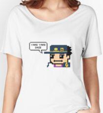 Yare Yare Daze Pixel Jotaro Jojo's bizarre adventure Women's Relaxed Fit T-Shirt