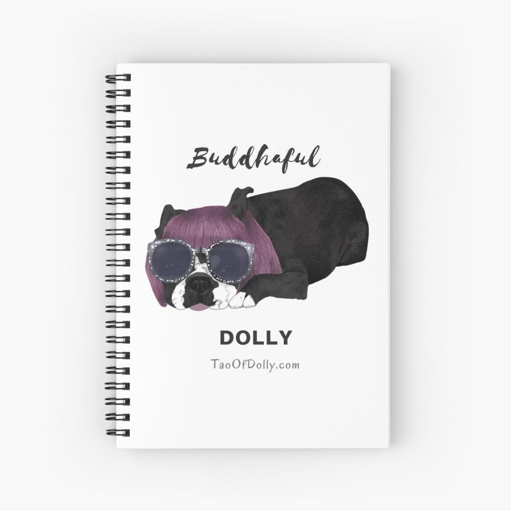 Buddhaful Dolly  Spiral Notebook