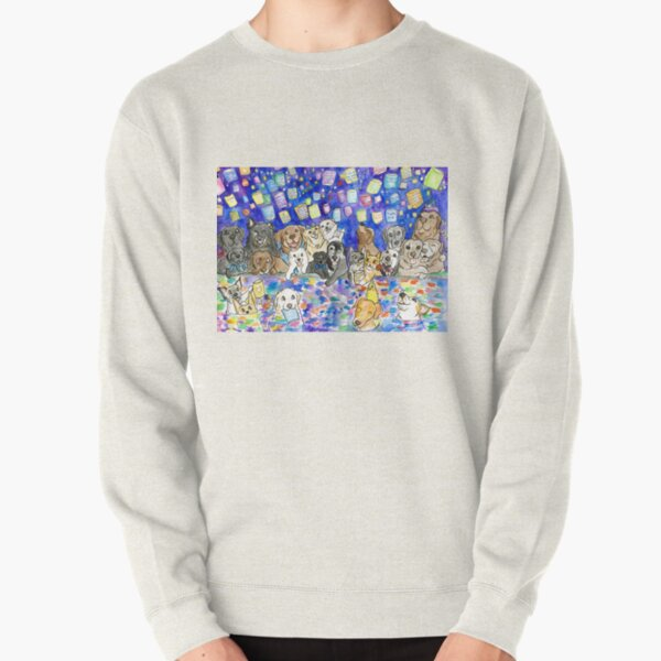 Magic Lantern Cats and Dogs Pullover Sweatshirt