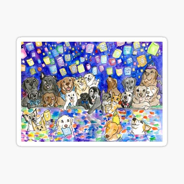 Magic Lantern Cats and Dogs Sticker