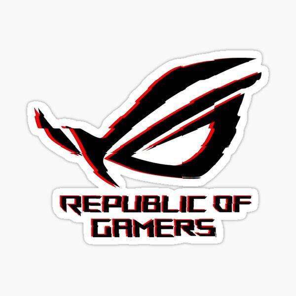 Asus Rog Republic Of Gamers Pegatina