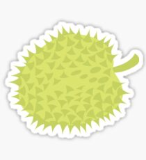 Simple Durian tropical fruit South East Asia Sticker