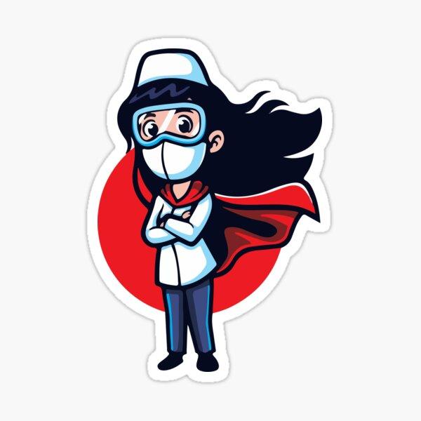 Nothing scares me i am a Nurse Sticker