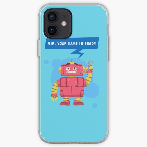 Sir, Your Game Is Ready iPhone Soft Case