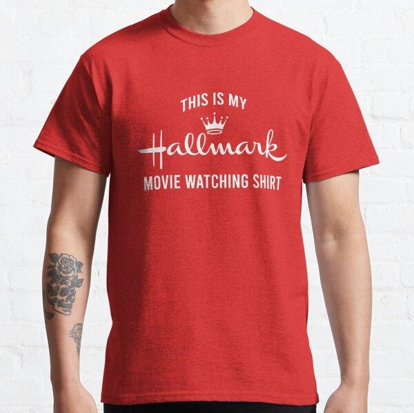 This is my Hallmark movie watching shirt Classic T-Shirt