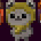 Ewok Pixel Art by Eag2000