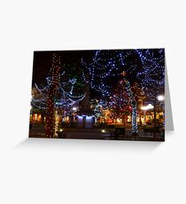 Santa Fe All Lit Up Greeting Card