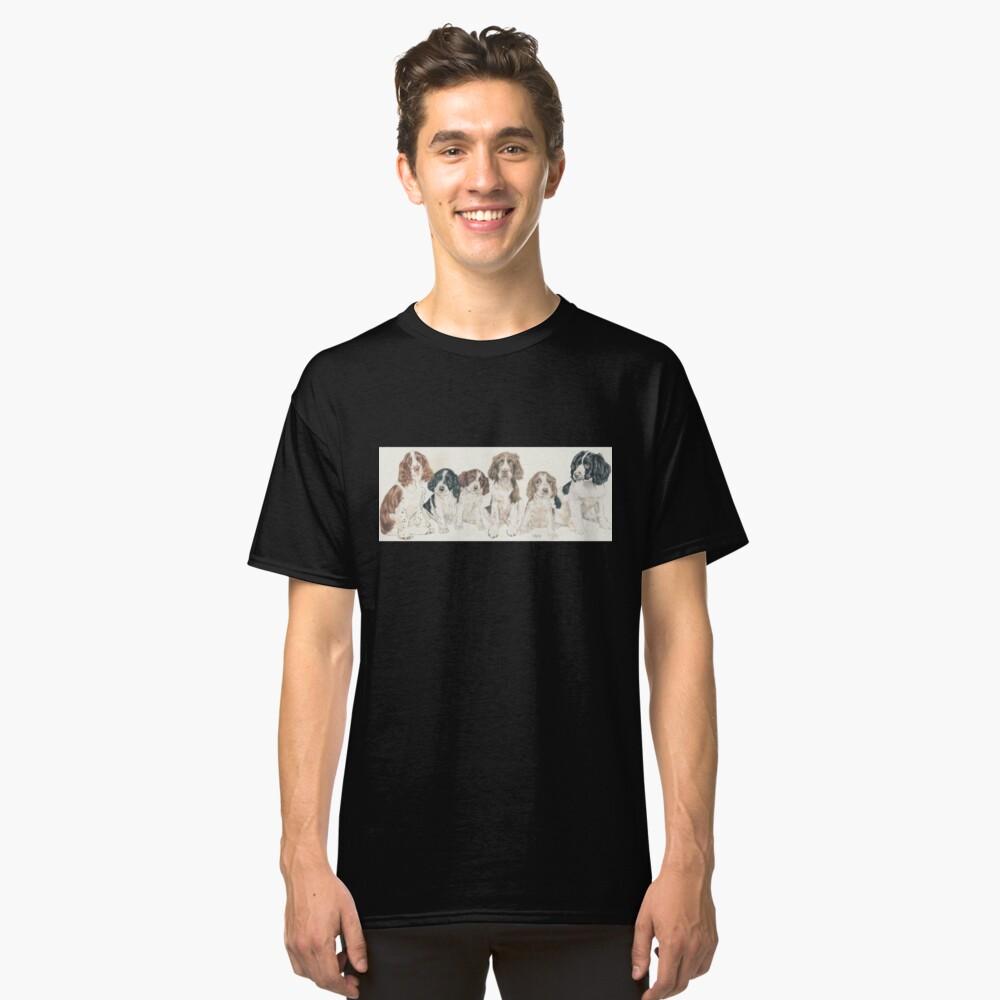 English Springer Spaniel Puppies Classic T-Shirt
