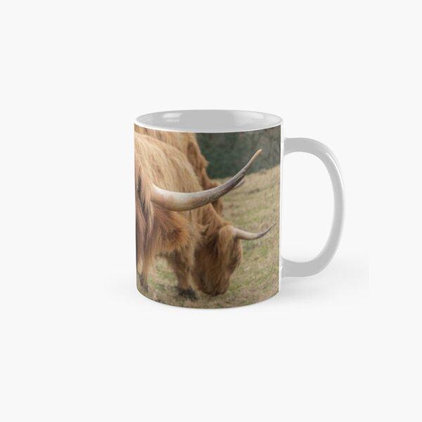 Funny Scottish Highland cow Classic Mug