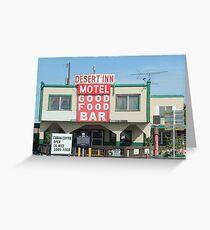 """Good Food"" Greeting Card"