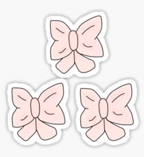 Pink Bow Sticker
