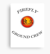 Firefly ''Ground Crew'' Canvas Print