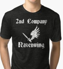Ravenwing Distressed Tri-blend T-Shirt