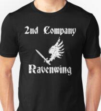 Dark Angels Ravenwing 2nd Company Distressed warhammer print Unisex T-Shirt