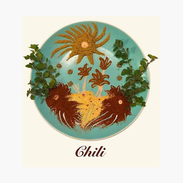 Chili Spices  Photographic Print