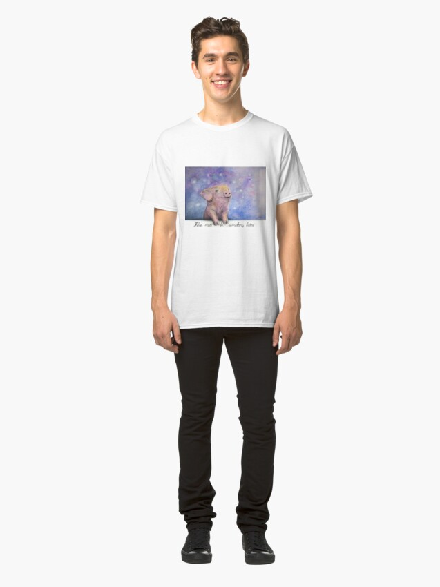Alternate view of There Must Be Something Better Classic T-Shirt