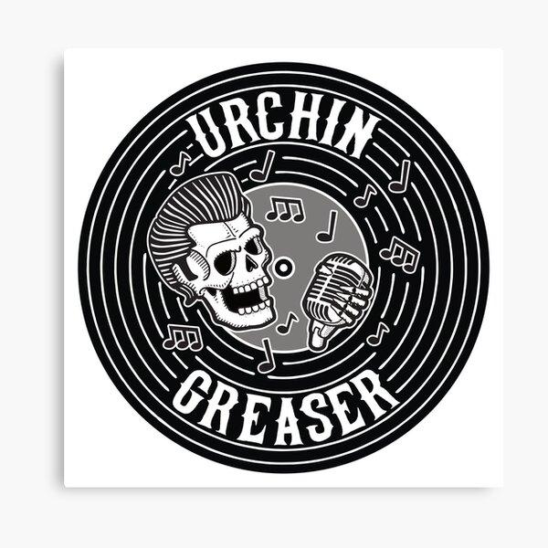Urchin Greaser Rockabilly Vinyl Record Main Canvas Print