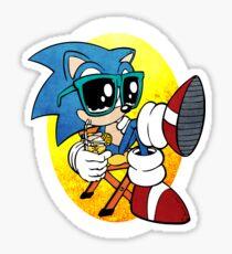 Sonic Chill Sticker