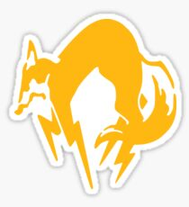 Metal Gear Solid - FOX Logo Sticker