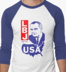 LBJ FOR THE USA Men's Baseball ¾ T-Shirt