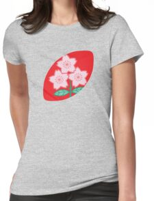 Rugby Japan Womens Fitted T-Shirt
