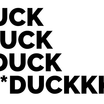 *Duck Autocorrect T-Shirt de leiderdesign