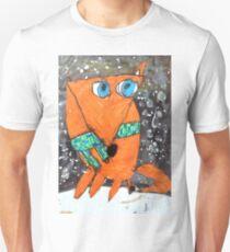 Mona Lisa Fox Unisex T-Shirt