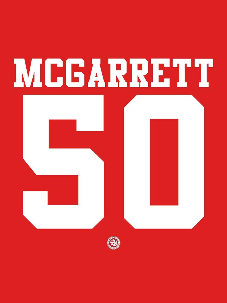 Steve McGarrett football jersey 50 | Unisex T-Shirt