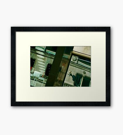 Puzzling Reflection Framed Print