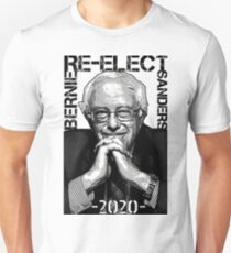 Re-Elect Bernie Sanders 2020 - Portrait T-Shirt