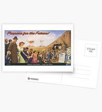 Prepare For The Future! Postcards