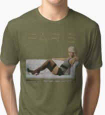Paris DANS CE MONDE T-shirt chiné