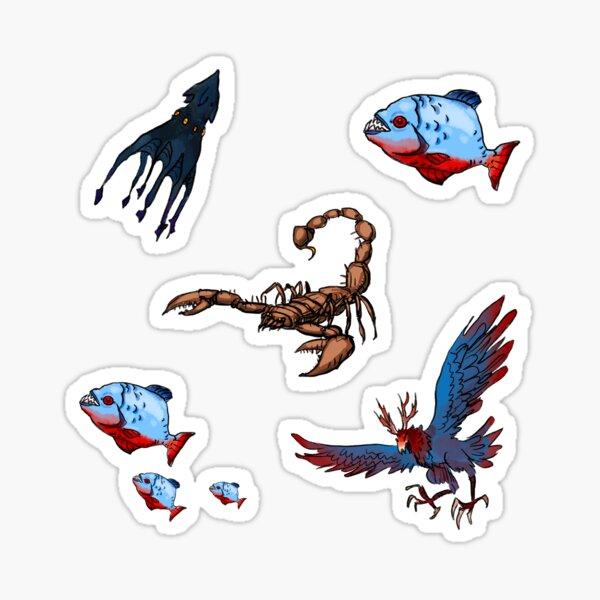 Beasts 'n' Monsters Sticker