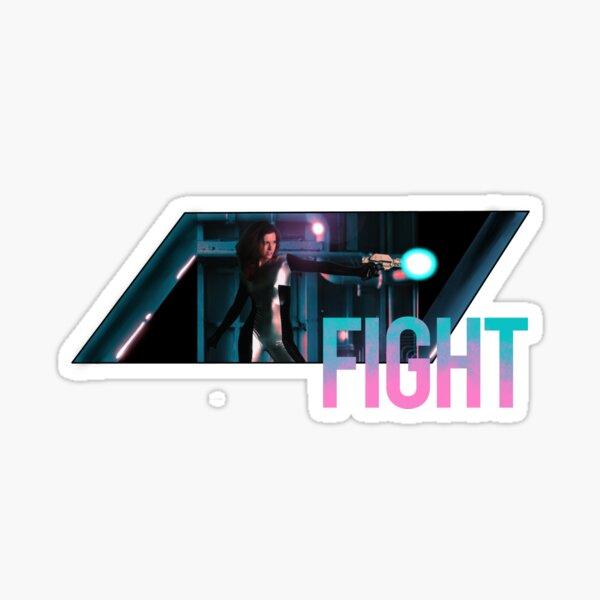 FIGHT Sticker